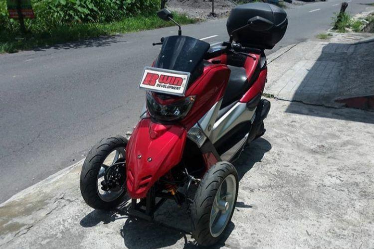 Modifikasi motor roda tiga yang diprakarsai Rubiyanto, pemilik R-Win Development.