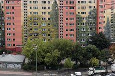Mural Terbesar di Dunia, Menutup Dinding Apartemen Kota