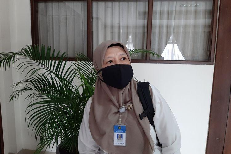 Kepala Balai Penyelidikan dan Pengembangan Teknologi Kebencanaan Geologi (BPPTKG) Yogyakarta, Hanik Humaida