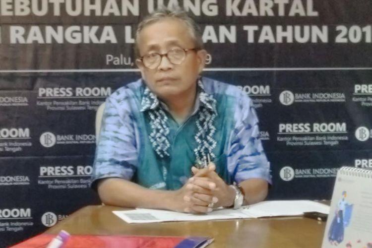 Bank Indonesia Perwakilan Sulawesi Tengah proyeksikan dana sebesar Rp. 1,9 Triliun untuk Idul Fitri, Sabtu (11/5/2019).