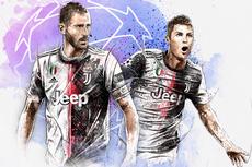 Atletico Madrid Vs Juventus, Ronaldo bagai Predator di Depan Gawang