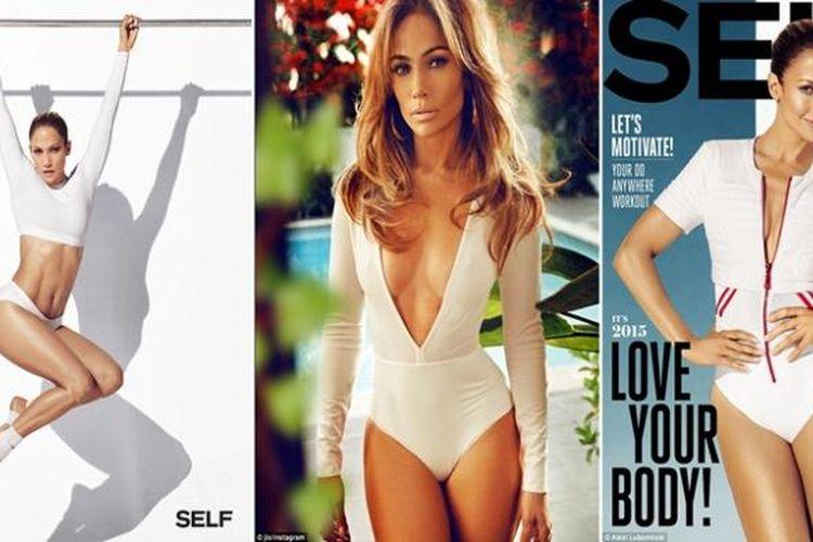 Sedari awal kariernya, Jennifer Lopez dikenal memiliki tubuh nan molek dan kencang, terutama pada area bokong. Ternyata, seiring usia, tubuh penyanyi yang akrab disapa dengan singkatan J.Lo ini justru semakin menawan.