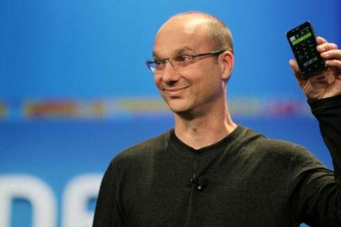 Tinggalkan Google, Bapak Android Bangun Startup