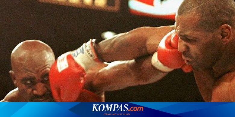 Mike Tyson Takjub dengan Keramahan Evander Holyfield Usai Insiden Gigit Telinga