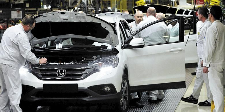 Pabrik Honda di Swindon, Inggris