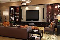 Begini Dekorasi Sofa Cokelat dalam Ruangan