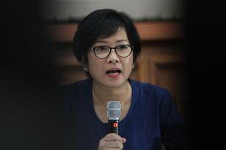 Direktur Utama PT Pertamina Karen Agustiawan.