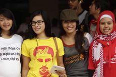 Suporter Liverpool Padati Senayan sejak Sore