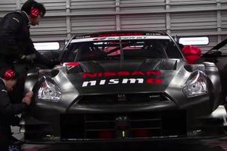Nissan GT-R Nismo 4 silinder diciptakan khusus demi balap Japan Super GT series.