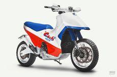 Doyan Motor Mainan, Honda X-ADV Dimodif Ala EZ-9