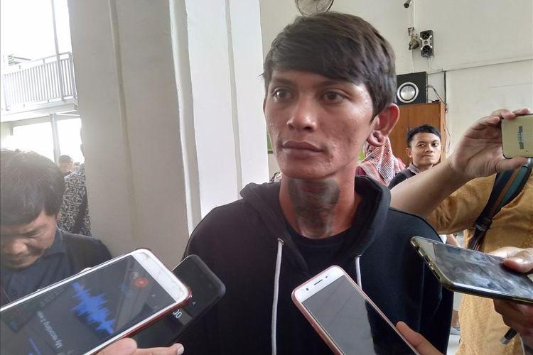 Fikri Pribadi, Pengamen yang diduga mendapat kekerasan dari oknum polisi, Rabu (17/7/2019).