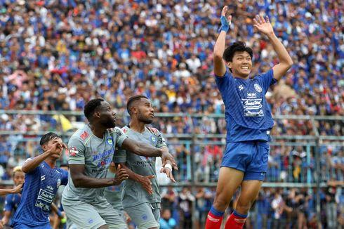 Arema Vs Persib, Penalti Wander Luiz Bawa Persib Menang