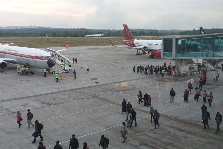 Bandara APT Pranoto Samarinda, Kalimantan Timur.