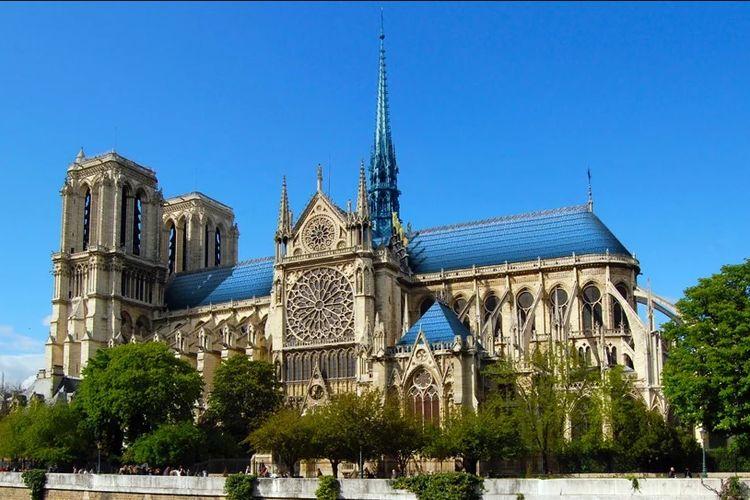 Gagasan Studi Drift untuk merestorasi Notre Dame