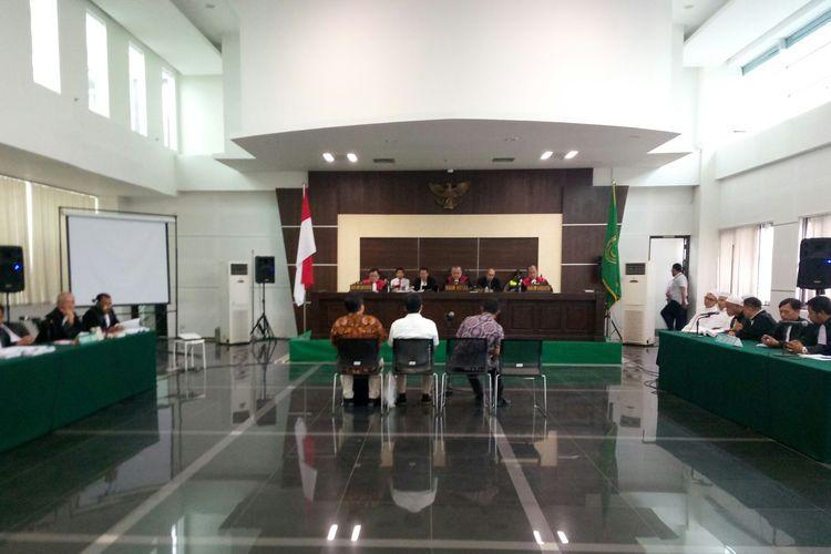 Tiga saksi ahli dihadirkan dalam sidang Bahar bin Smith, Kamis (2/5/2019).