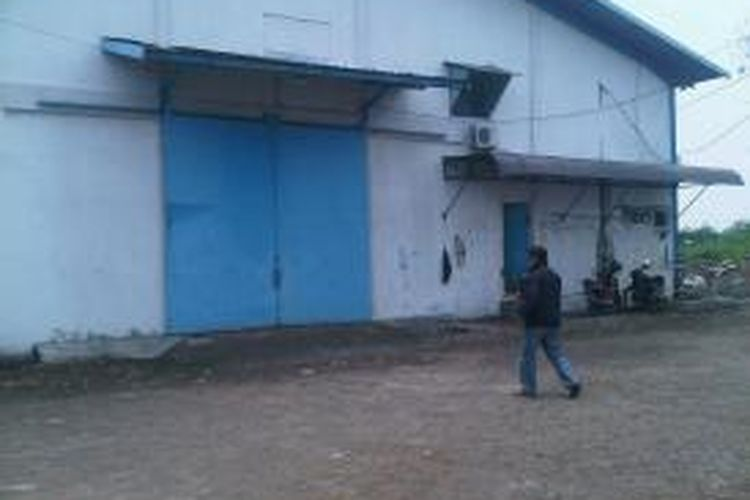 Gudang CV Wiyata Agri Satwa di Sidoarjo.
