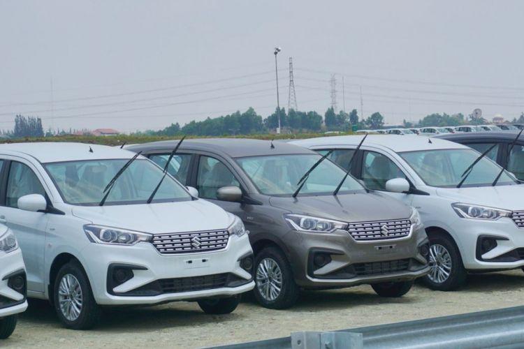 Suzuki All new Ertiga jadi salah satu komoditas ekspor Suzuki ke mancanegara