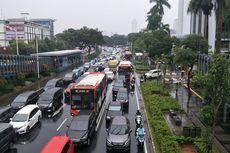 Jakarta Banjir: Jalan MH Thamrin, Jalan Sudirman, Jalan Asia Afrika Macet