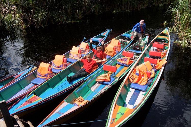 Taman Nasional Sebangau layak untuk dikunjungi jika tengah berlibur ke Kota Palangkaraya