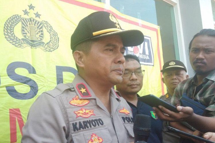 Irjen Karyoto saat menjabat Kapolda DIY dan berpangkat Brigjen Polisi.