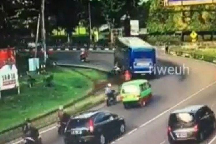 Peristiwa kecelakaan di Bogor.