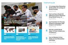 [POPULER TREN] Daftar 20 Lembaga di Bawah Presiden   Bali dan Lombok Masuk Pulau Terbaik Asia