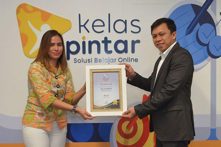 Kelas Pintar raih penghargaan Best Education Platform di Selular 2020. (Dok. Kelas Pintar)