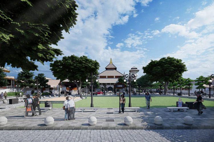 Penataan kawasan budaya Lasem di Kabupaten Rembang, Provinsi Jawa Tengah.