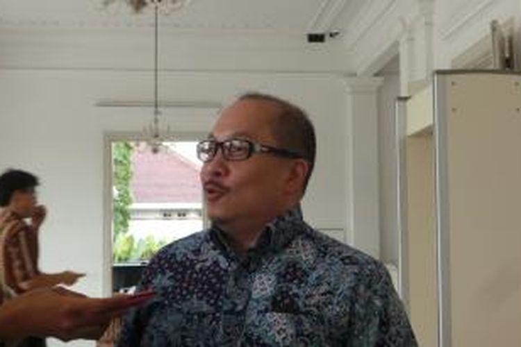 Direktur Utama PT Transjakarta Antonius NS Kosasih