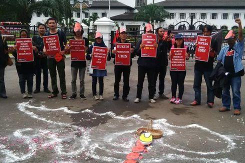 Peringati Hari Kebebasan Pers International, Jurnalis Bandung Gelar Aksi