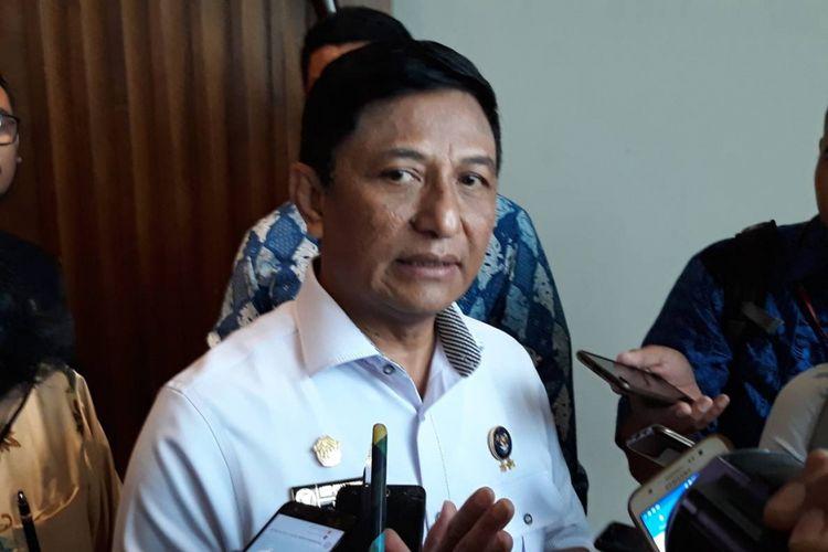 Deputi Bidang Penanggulangan dan Pemulihan BSSN Asep Chaerudin