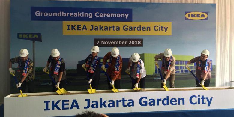 Hadir Di Timur Jakarta Gerai Ikea Kedua Mulai Dibangun Di Jgc
