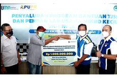 Jasa Marga Salurkan Bantuan Rp 1 Miliar untuk UMKM di Rest Area 575A Jalan Tol Solo-Ngawi