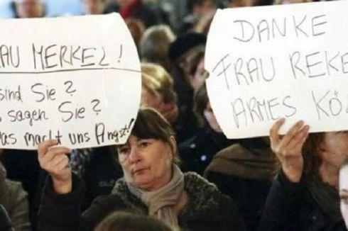 Merkel: Usir Pengungsi yang Terbukti Melanggar Hukum