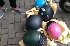 Russian Man Allegedly Steals Five Helmets after Breakup in Bali
