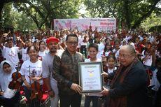 Menpora Dukung Pemecahan Rekor Dunia Konser Mainkan Lagu Indonesia Raya