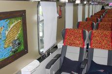 Kereta Api Cirebon Ekspres, Menggelitik dengan Motif Etnik