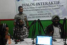 Seorang Oknum Polisi Menerobos Masuk ke Acara Dialog RRI Wamena