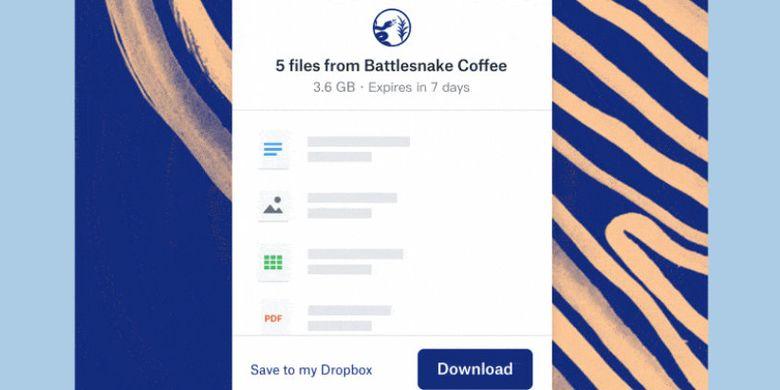 Dropbox Kini Bisa Kirim File Hingga 100 Gb Lewat E Mail