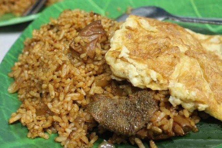 Ilustrasi nasi goreng babat.