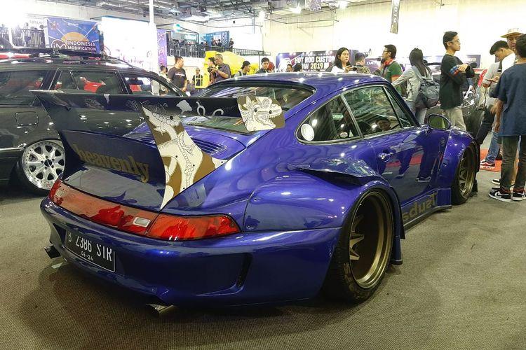 Porsche RWB pertama di Jakarta turut ramaikan IMX 2019.