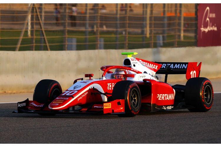 Sean Gelael berlaga di F2 GP Bahrain 2019