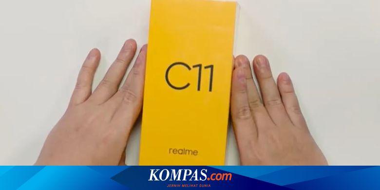 Realme C11 Resmi di Indonesia, Baterai 5.000 mAh H