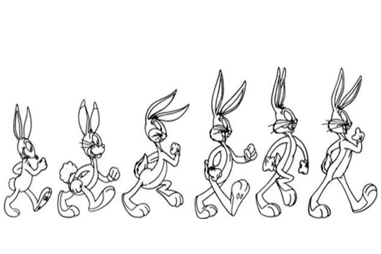 Evolusi Bugs Bunny