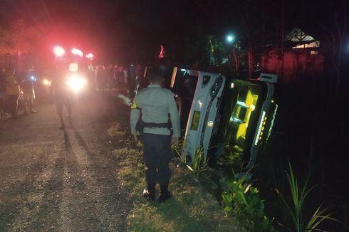 4 Fakta Bus Pariwisata Rombongan Pegawai RSUD Kota Semarang Terguling di Gunungkidul