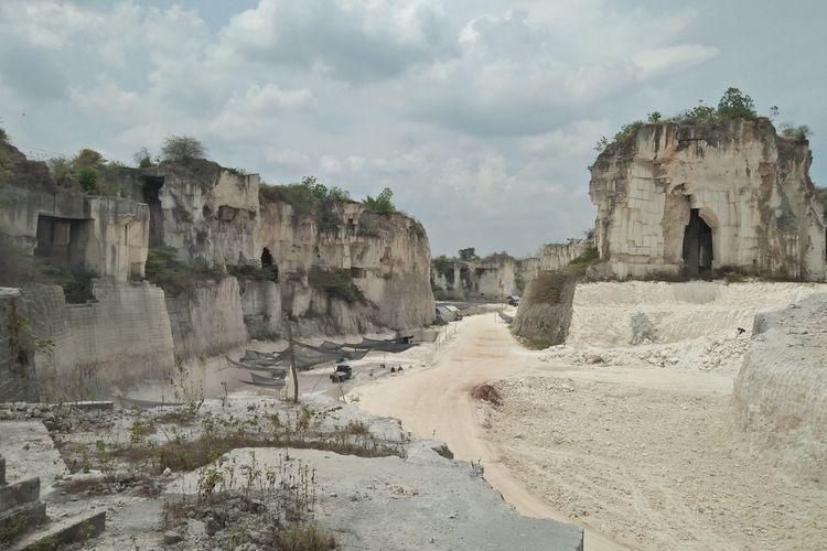 Salah satu pemandangan di wisata Setigi yang berada di Desa Sekapuk, Kecamatan Ujungpangkah, Gresik.