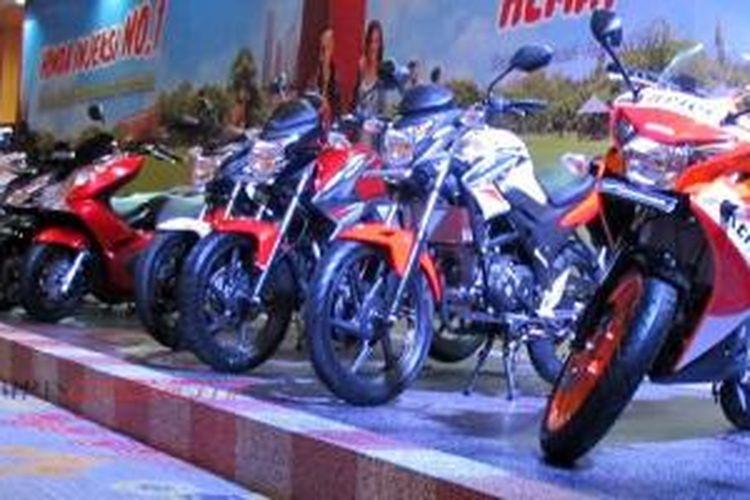 Deretan varian sepeda motor Honda