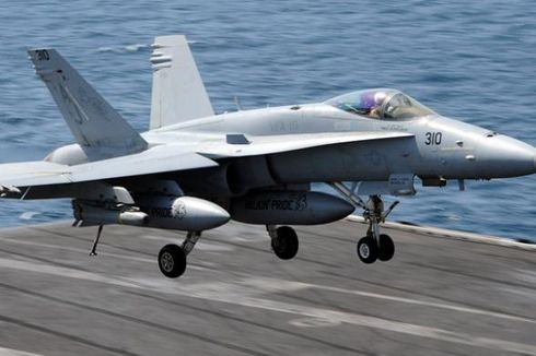 TNI AU Selidiki Masuknya Pesawat Tempur Asing F-18 Hornet di Perairan Natuna