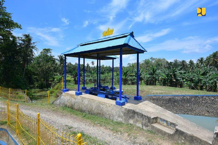 Daerah Irigasi Way Tebu System di  Kabupaten Pringsewu dan Kabupaten Tanggamus, Provinsi Lampung.