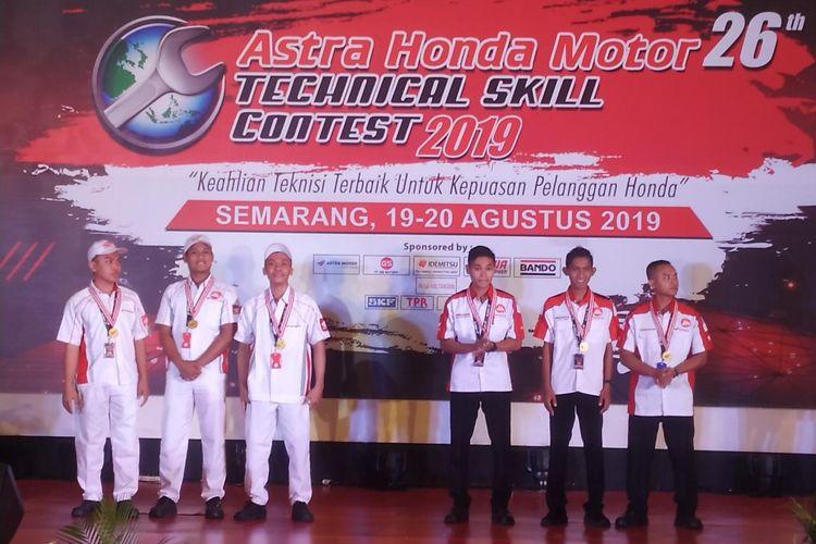 Astra Honda Motor Technical Skill Contest 2019